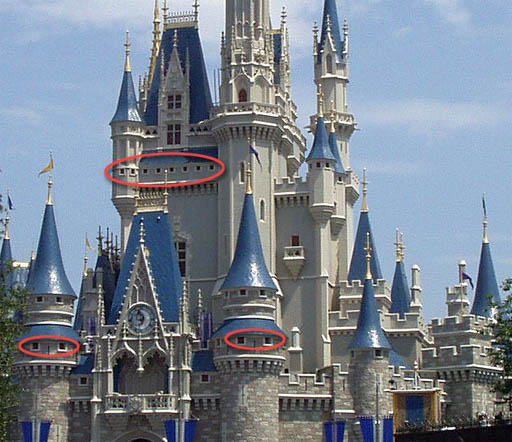 Tall Castle Drawing Their Cinderella's Castle