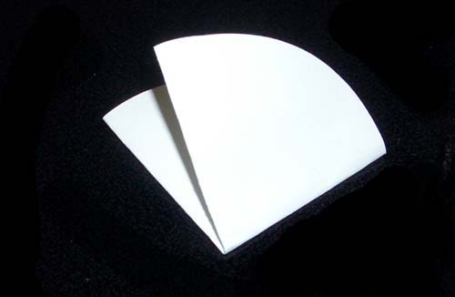 Paper Folding Test Now Fold The Filter Paper But