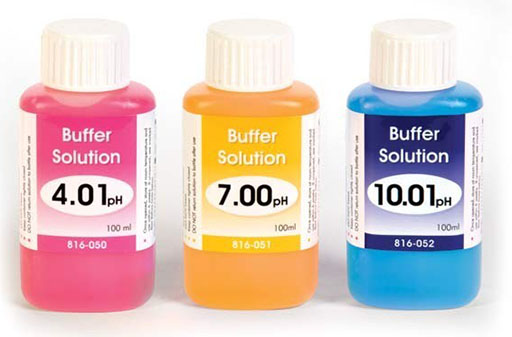 buffer solutions Buffer solutions that are greater than 12 should be used immediately, or should be prepared using freshly boiled water, and stored under condi.