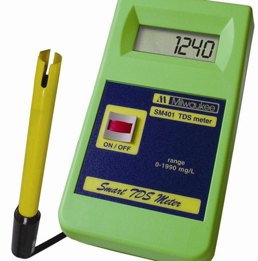 Electrical Conductivity Meter : Lab determining tds