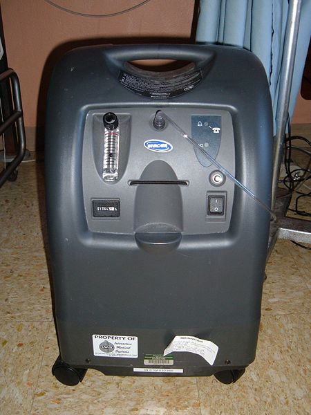 concentrated oxygen machine