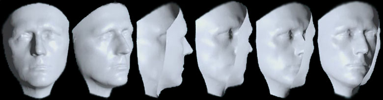 Schizophrenie Test Maske