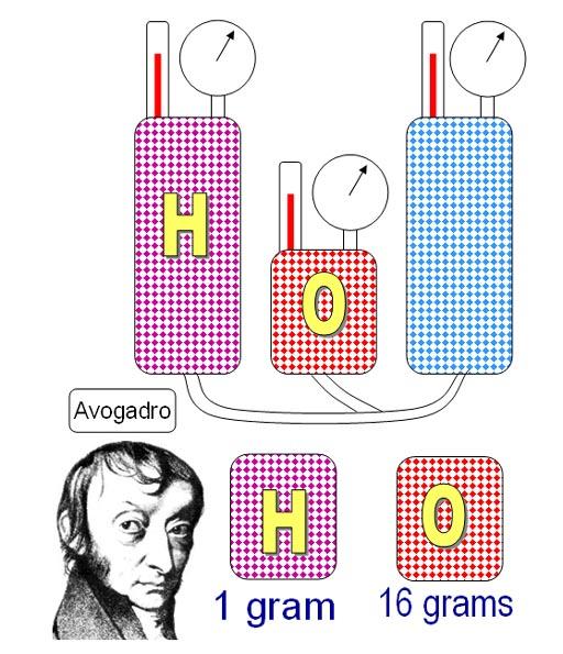 avogadro law equation