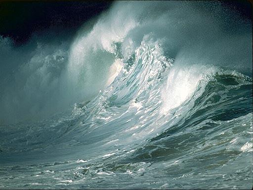 Thales var innmari begeistra for vann
