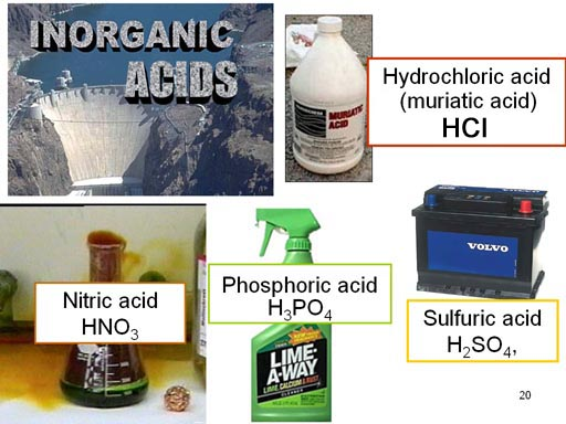 different acids and their reactions The preparation and reactions of mixed anhydrides of n-alkoxycarbonylamino acids their purification by washing solutions of the anhydrides in.