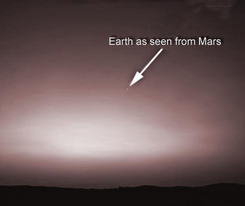 looking at earth from mars - photo #16