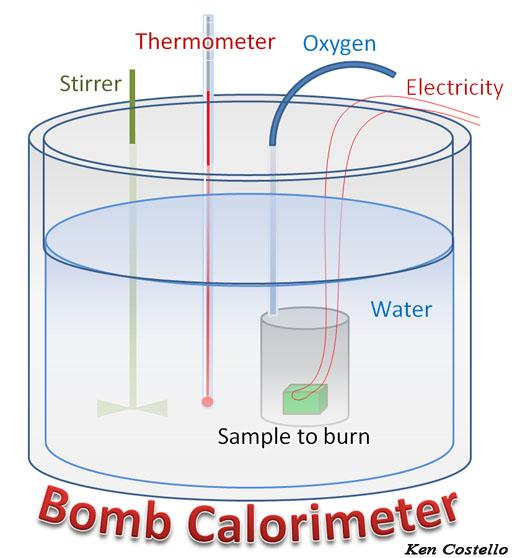 Equation For Bomb Calorimeter Bomb Calorimeter
