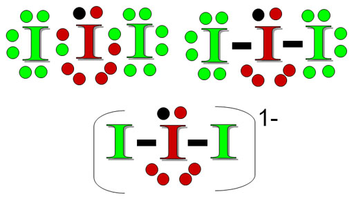 Problem 6 This is I3-  I 3 Lewis Dot Structure
