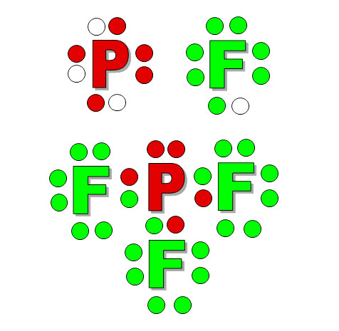 Lewis Dot PF3 I 3 Lewis Dot Structure